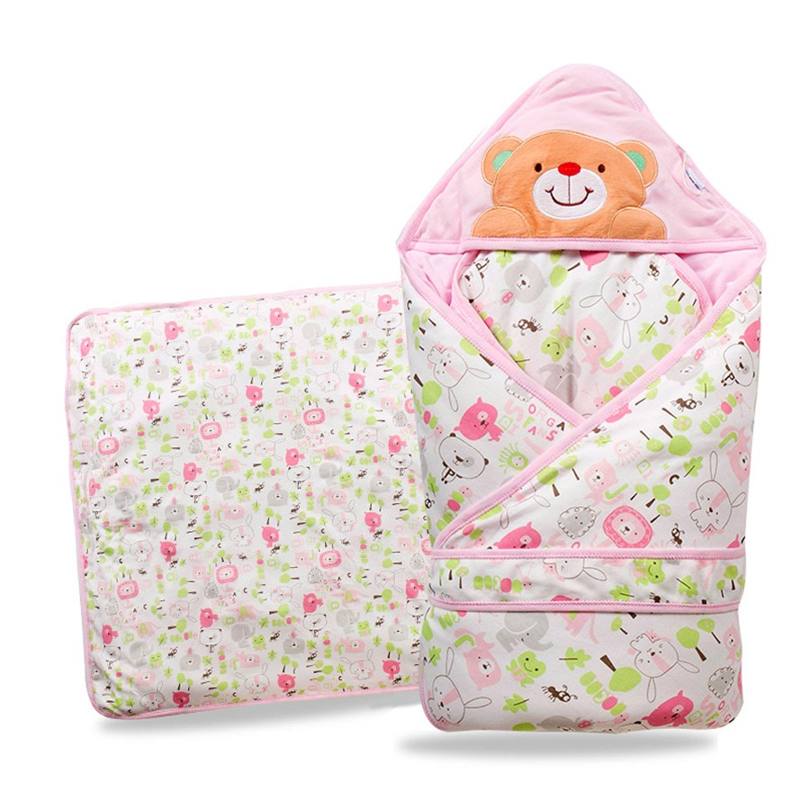 Baby Wrapped Blanket Warm Care (3)