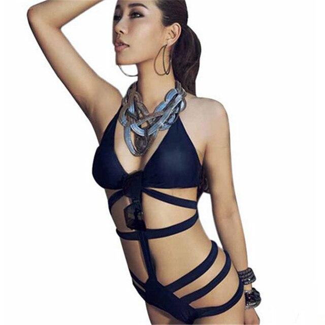 de50968d33f Ladies Swimsuit Bathing Suit Maillot De Bain Push Up Bikinis Bathsuit  Bandage Swimwear Hot New Design