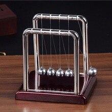 1 шт./кор. Нержавеющая сталь Ньютона Колыбель маятник мяч для физики и математики образование и дома