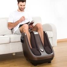 Electric Foot Massager Calf Machine Shiatsu Kneading Rolling Air Compression Fee