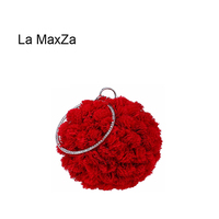 La MaxZa China Manufacturer New Fashion Clutch Bag Women Clutch Bag With Wrist Strap Many Colors Evening Bag