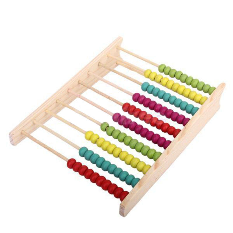 Hot Selling Montessori Game Early Childhood Educational Toys Learning Toy Wooden Abacus For Drop Shipping Wholesale