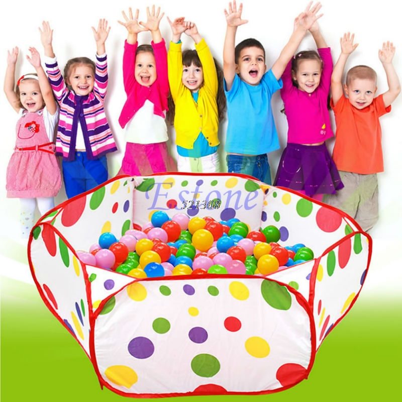 Foldable Kids Children Ocean Ball Pit Pool Game Play Toy Tent Baby Safe Playpen A16075