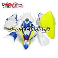 Fiberglass Racing Full Fairing Kit For Yamaha YZF600 R6 2008 2016 09 10 12 ABS Plastic Motorcycle White Blue Fluorescein Covers