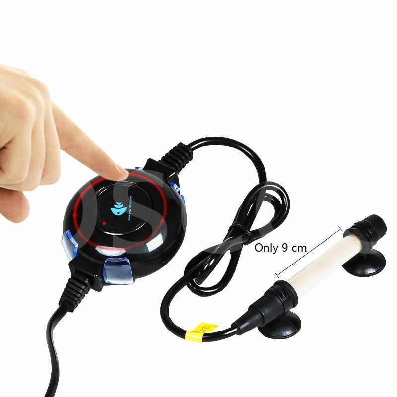 Aquário mini termostato haste de aquecimento, display digital controlador de temperatura, tubo de aquecimento submersível. tubo de aquecimento