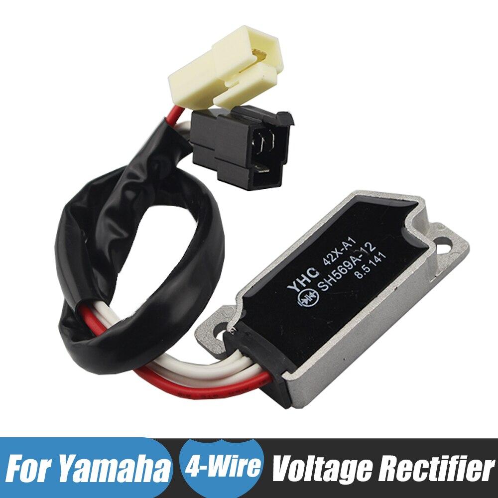 Motorcycle Motorbike Voltage Rectifier Regulator 12v for Yamaha XV535 XV400 XV700 XV750 XV 1100 VIRAGO VMX1200 VMX 1200 V-MAX стоимость