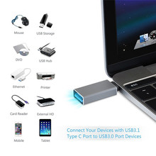 USB-C 3.1 Type C Male to USB 3.0 Female Adapter converter for MacBook Color Randomly