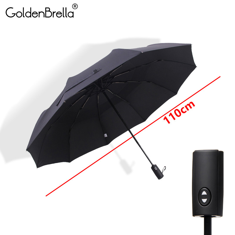 Double Layer Umbrella For Men Quality Large Wind Resistance Golf Automatic Folding Umbrella Rain Women Big Brand Travel Umbrella