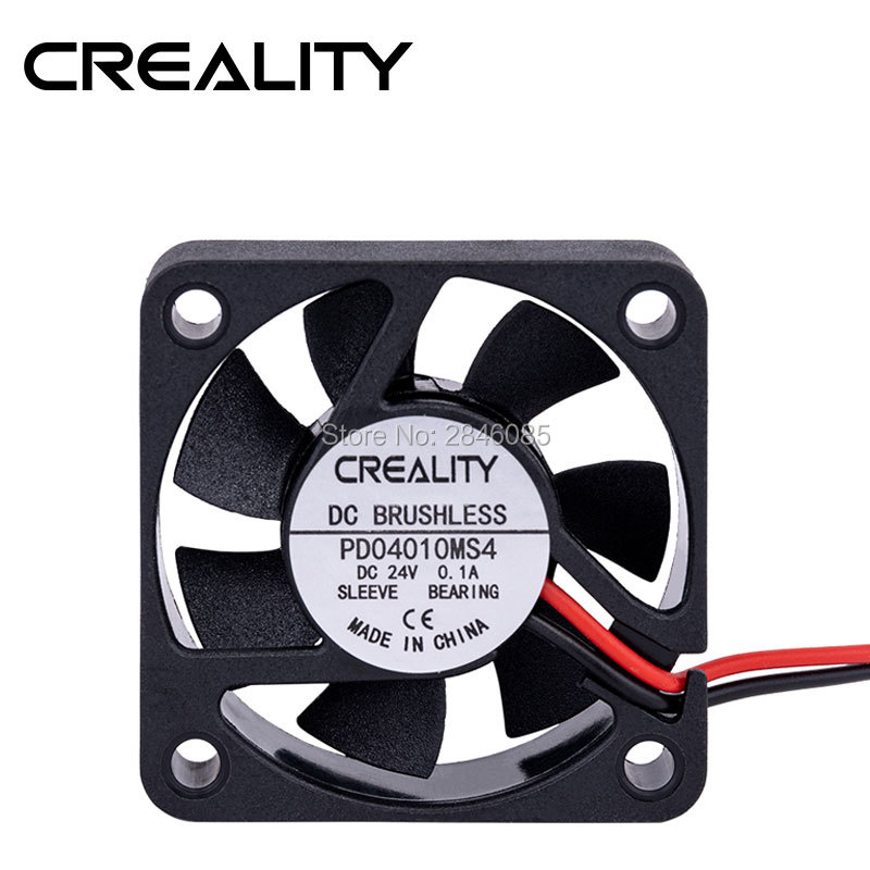 Factory Supply Creality 3D Printer Parts DC Brushless Mainboard Fan 4010 24V DC Cooler Small Cooling Fan For Ender-3 Printer