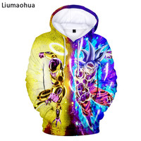Liumaohua brand dragon ball Hoodies /Women Fashion Boy/Girls Pullover 3D Hooded HarajukuCasual Sweatshirts 02
