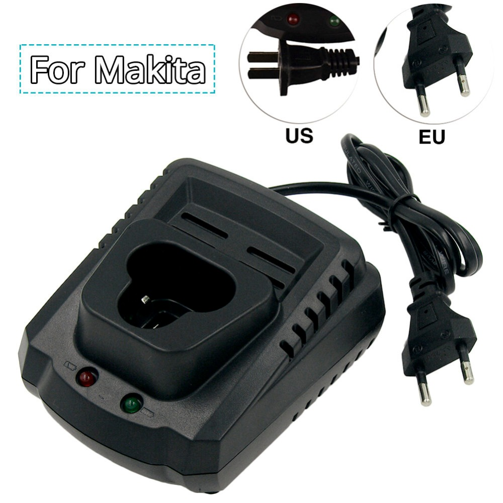 High Quality Rechargeable <font><b>Battery</b></font> <font><b>Charger</b></font> 10.8V <font><b>12V</b></font> AC100V-240V for <font><b>Makita</b></font> Power Tool Lithium Replacement <font><b>battery</b></font> BL1014 BL1013 image