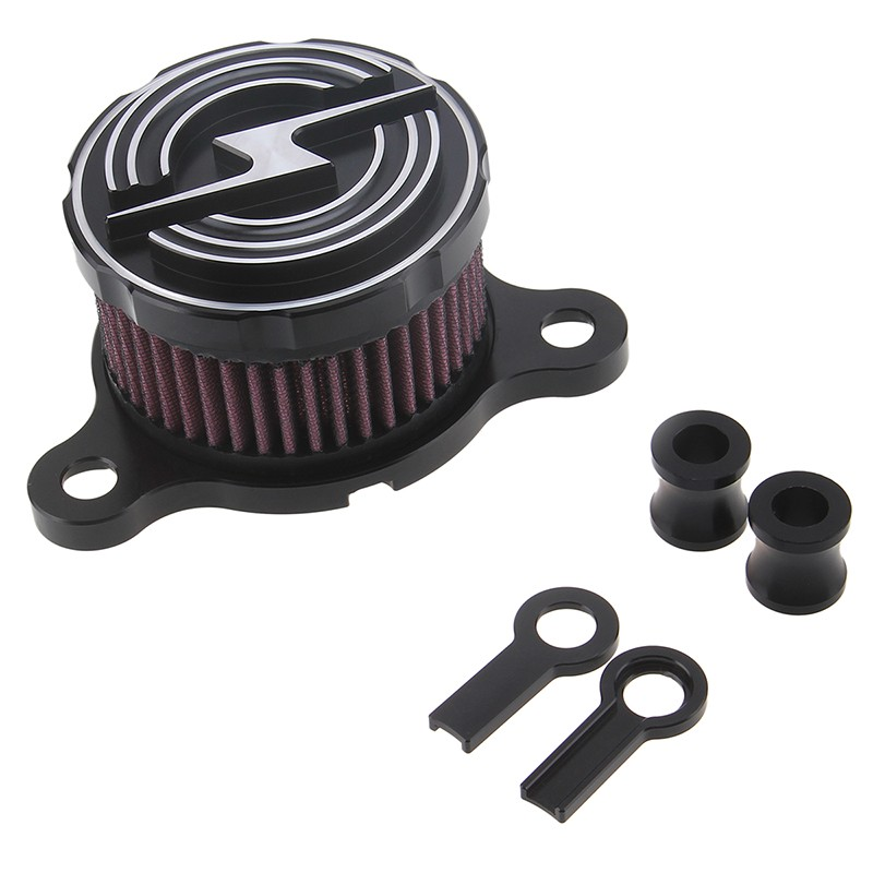 Brand CNC Aluminum Motorcycle Rough Crafts Air Cleaner Intake Filter fit for Harley Davidson Sportster 2004 -2014 XL 883 XL1200 air cleaner kit fit harley davidson all s