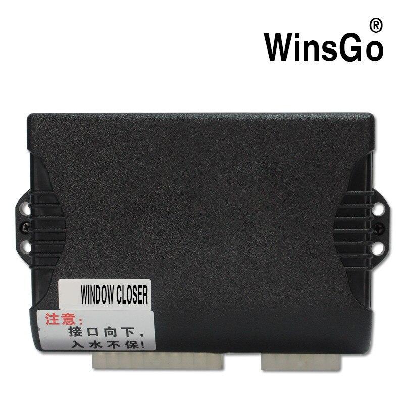 WINSGO автомобиля мощность окна ближе закрытия и открытым управление ключом LHD левый руль для Nissan X-Trail 2010-2013 + бесплатная доставка
