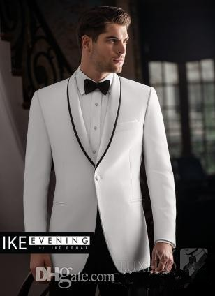New Arrival One Button Shawl Collar Groom Tuxedos Groomsmen Mens Wedding Suits Prom Bridegroom (Jacket+Pants+Girdle+Tie) NO:354