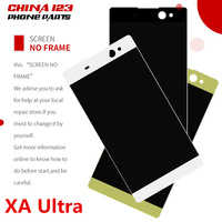 For SONY Xperia C6 XA Ultra LCD Display Touch Screen Digitizer Assembly Replacement F3211 F3213 F3215