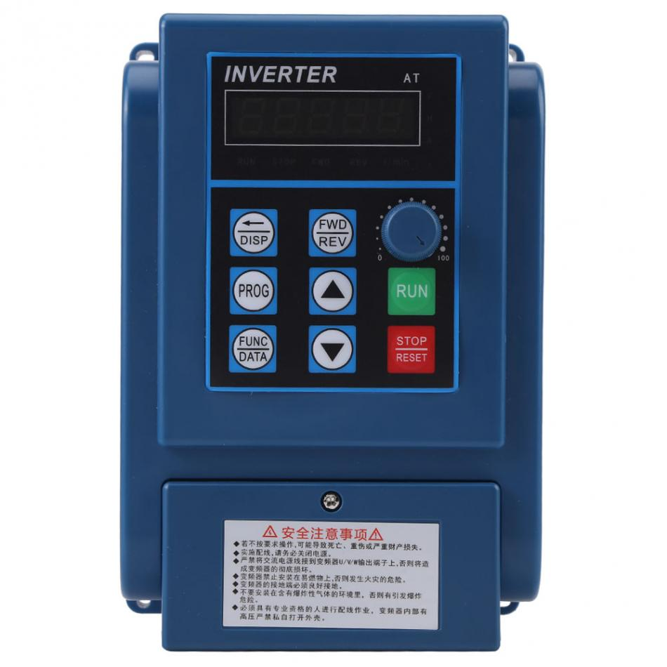 1Pcs AC 380V 1 5kW 4A Variable Frequency Drive VFD 3 Phase Speed