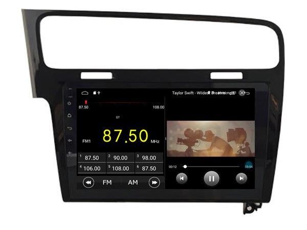 64 GB rom 8 core Android 8.1.2 voiture GPS pour Golf 7 2013-2015 noir écran tactile radio DSP stéréo navigation carplay multimédia - 5