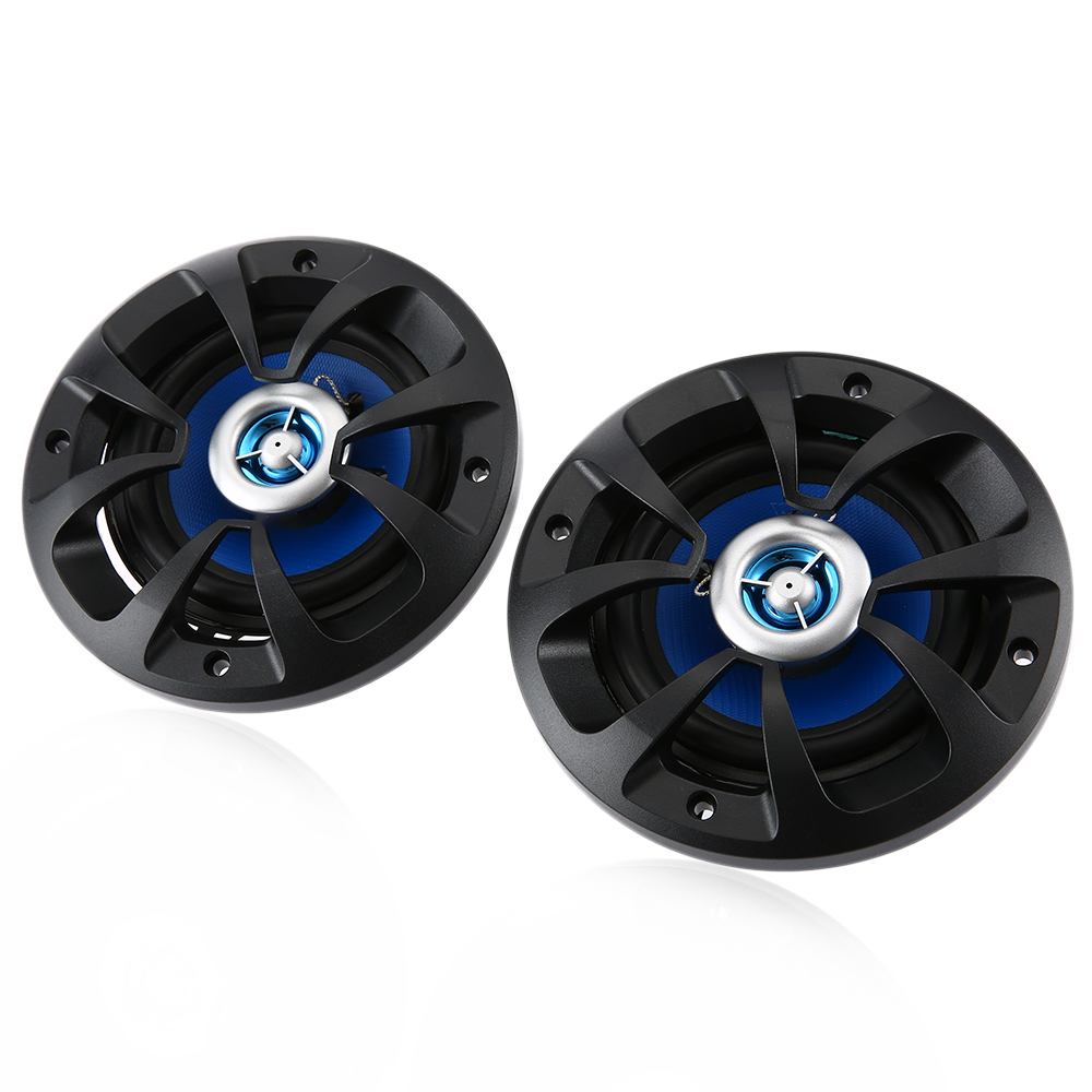 LABO Paired Car Coaxial Speaker 4 inch Music Sound Stereo Loudspeaker Power Sensitivity 80W Vechile Woofer LB - PP2402T