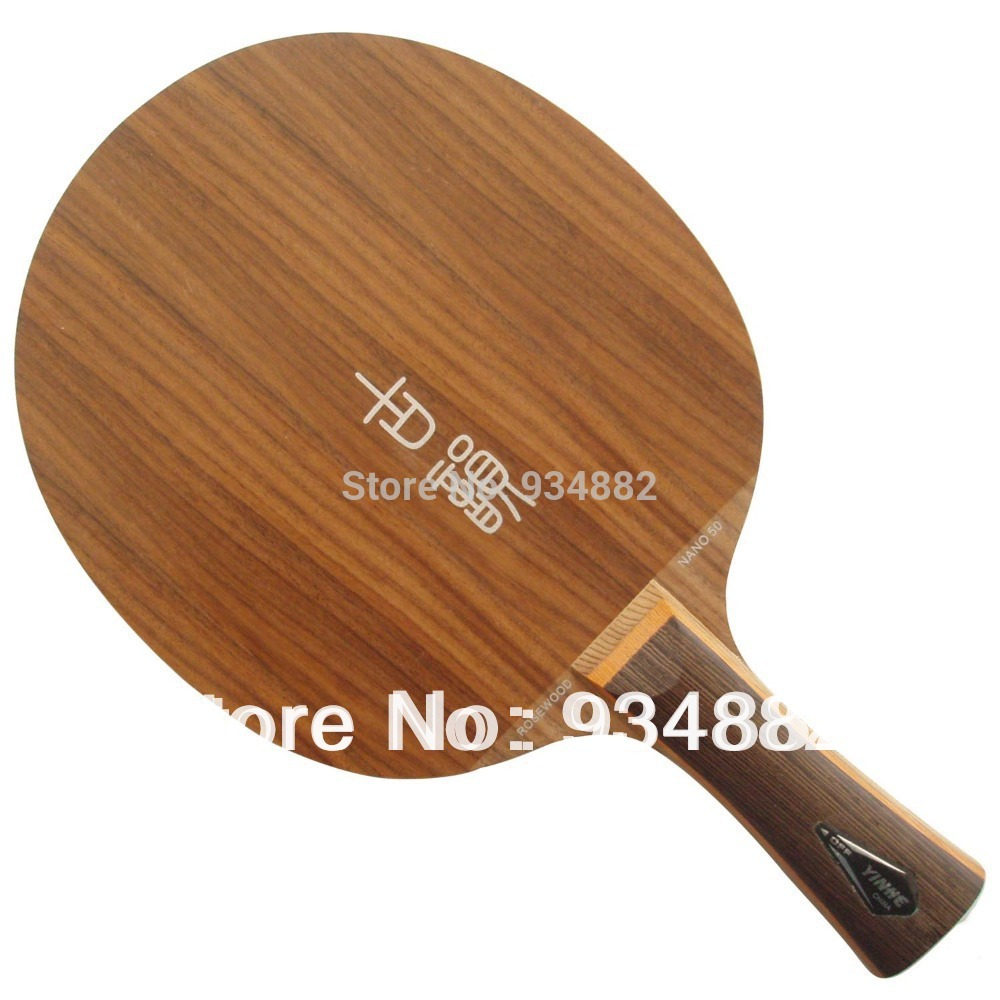 Yinhe NR-50 (Rosewood Nano 50) Table Tennis (Ping Pong) Blade original yinhe milky way galaxy nr 50 rosewood nano 50 table tennis pingpong blade