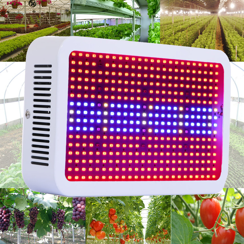 Hot Sale 400 LEDs Grow Lights Full Spectrum 400W Indoor Plant Lamp For Plants Vegs Hydroponics System Grow/Bloom Flowering