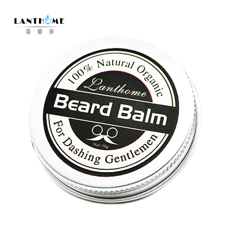 New Lanthome Beard Oil and Balm Moustache Wax beard grooming conditioner beard balm for styling moisturizing smoothing gentlemen 5