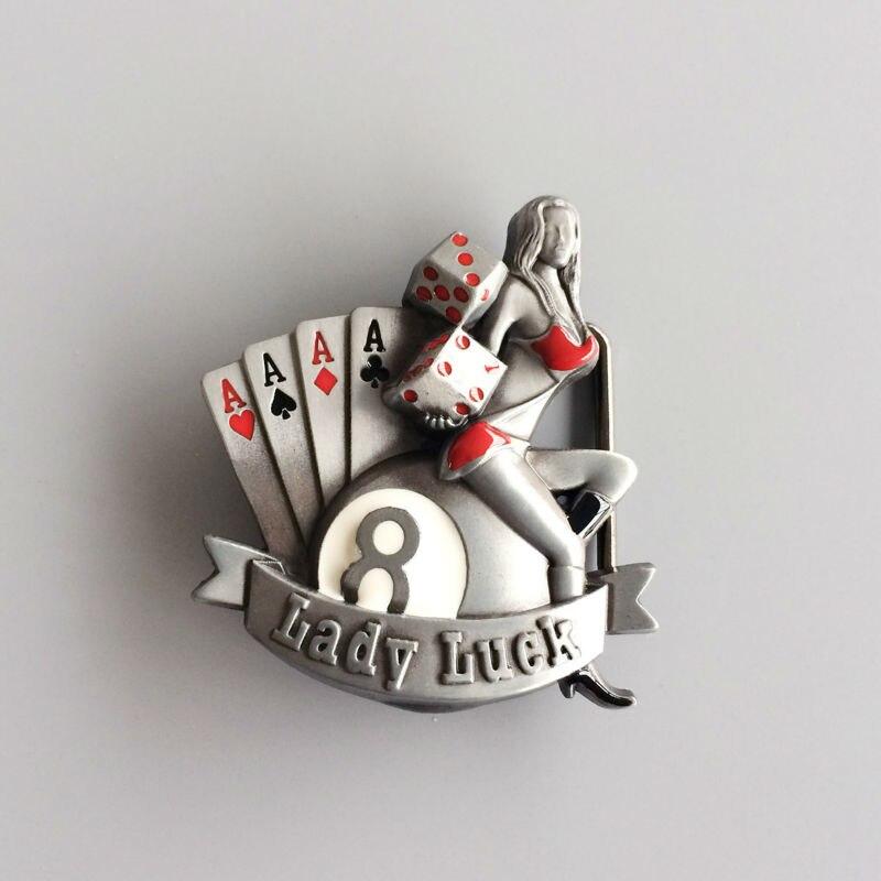 Detail Feedback Questions about New Jean s Friend Vintage Lady Luck Casino  Gamble Dice Enamel Belt Buckle Gurtelschnalle Boucle de ceinture on ... e245872ff70
