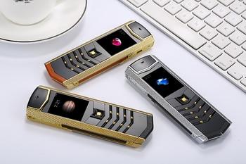 H-mobile V1 Russian keyboard Luxury Mobile Phone Dual Sim Card bluetooth mp3 Camera Calculator Flashlight Alarm clock Cell Phone