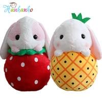 2018 New Arrival Cute Large Fruit Bunny Plush Toy Lovely Big Rabbit Giant Stuffed Animal Fluffy