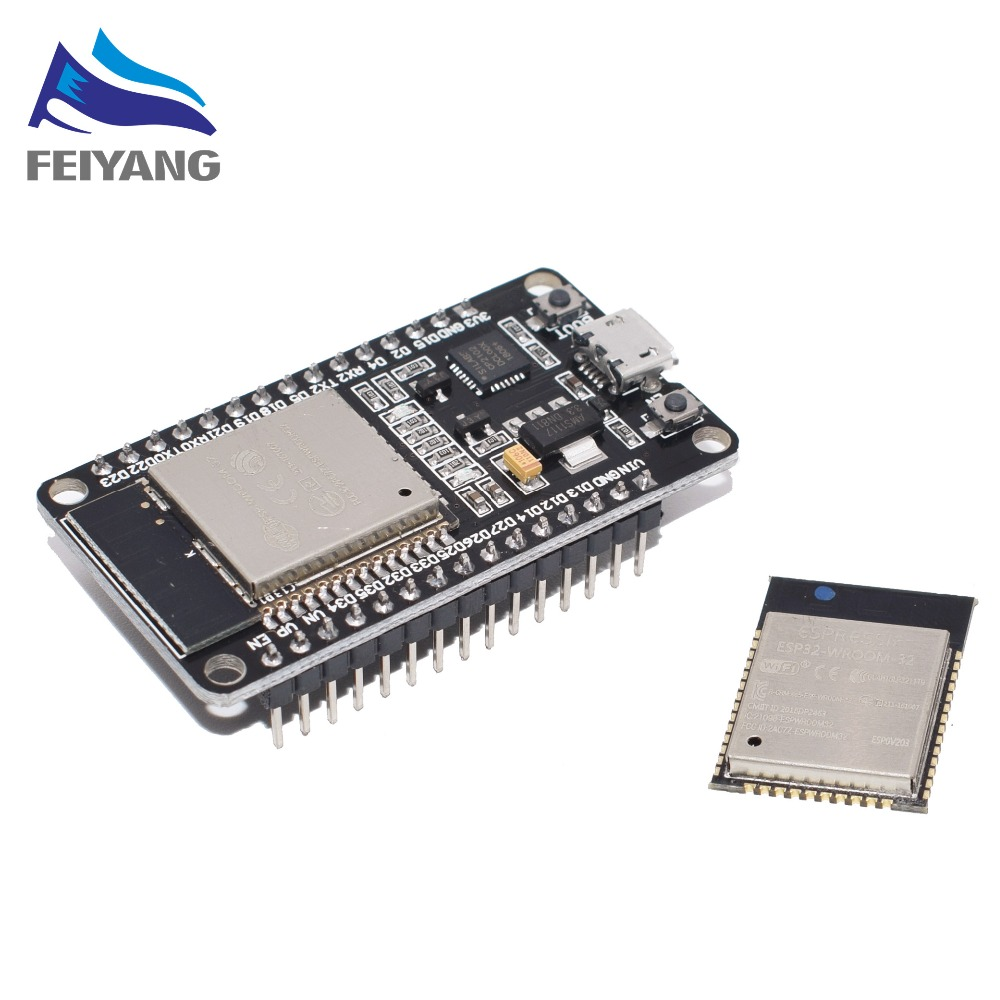 ESP-32S ESP-WROOM-32 ESP32 ESP-32 Bluetooth and WIFI Dual Core CPU with Low Power Consumption MCU ESP-32ESP-32S ESP-WROOM-32 ESP32 ESP-32 Bluetooth and WIFI Dual Core CPU with Low Power Consumption MCU ESP-32