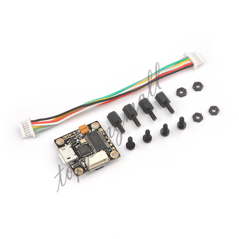 Super_S F4 Flight Controller Board Integrated OSD Built-in 5V BEC for Indoor Brushless FPV Racer Drone Quadcopter teeny1s f4 flight controller board with built in betaflight osd 1s 4 in1 blhelis esc for diy mini rc racing drone fpv