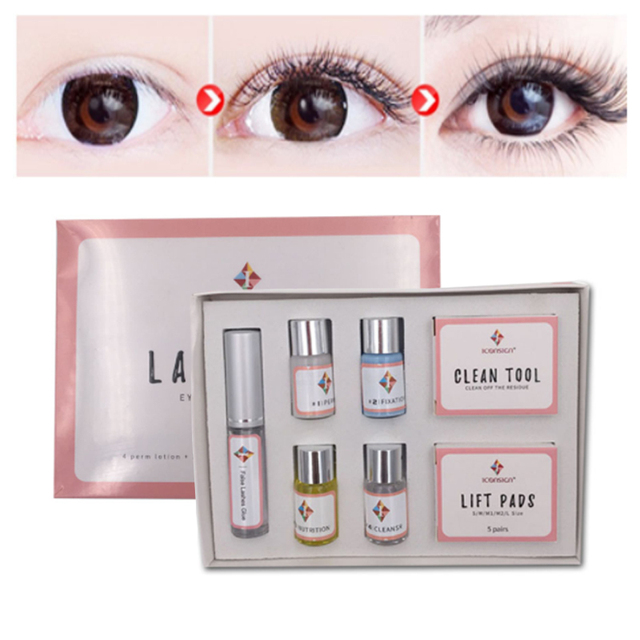 a1e43e74fea Eyelash Perm Kit Curling Lash Enhancer Extension Eye Lashes Glue For  Professional Liquid Lash Lift Kit+Clean Tool+Lift Pads