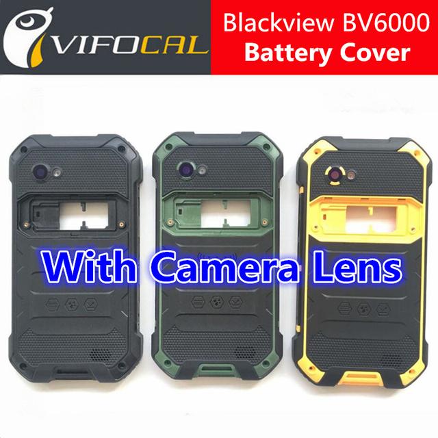 Blackview bv6000 tampa da bateria + altifalante 100% original oficial de volta case acessório de substituição para bv6000s blackview