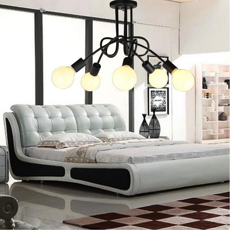 Loft Style 3/4/5/6 Lights Ceiling Lamp Vintage Personality Modern Home Decoration Lights Bedroom Light Free Shipping free shipping cy041 loft vintage style metal painting home pendant lights lamp page 3