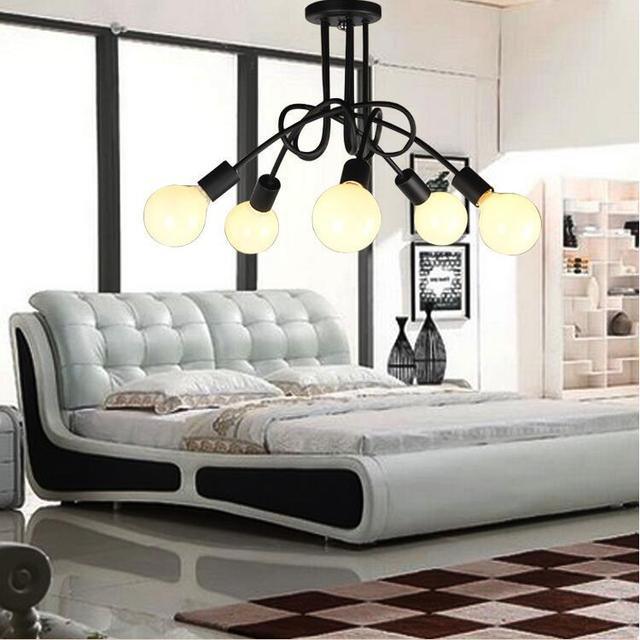 loft style 3456 lights ceiling lamp vintage personality modern home - Vintage Bedroom Lighting