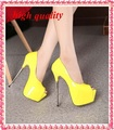 party shoes woman sexy open toe high heels platform pumps women high heels red pumps white wedding shoes woman yellow nude Y579