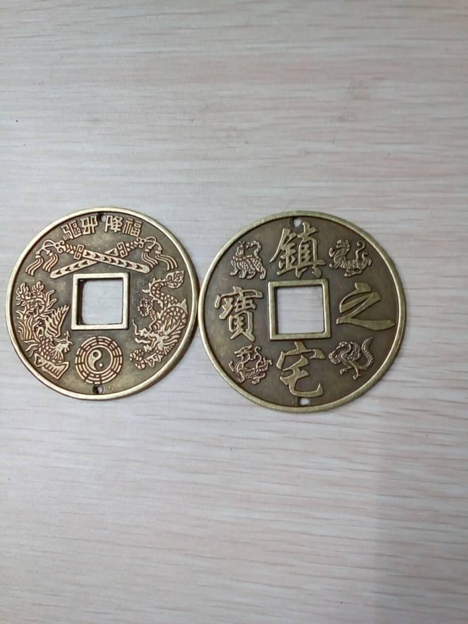 12pcs collection old antique animals Bronze mirror Chinese zodiac Commemorative