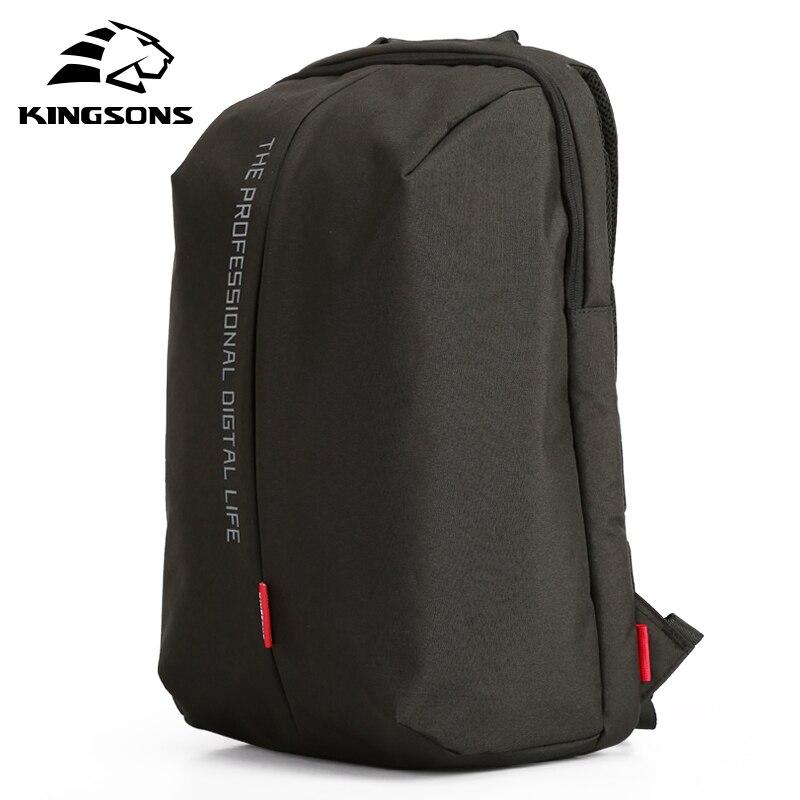 Kingsons Laptop Rucksack 15,6 Zoll Hohe Qualität Wasserdichte Nylon Taschen Business Dayback Männer und frauen Rucksack-in Rucksäcke aus Gepäck & Taschen bei  Gruppe 1