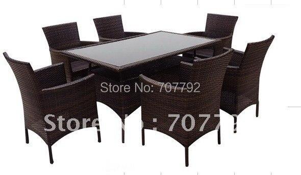 hot sale sg12015b urban new style dining rattan furniture china