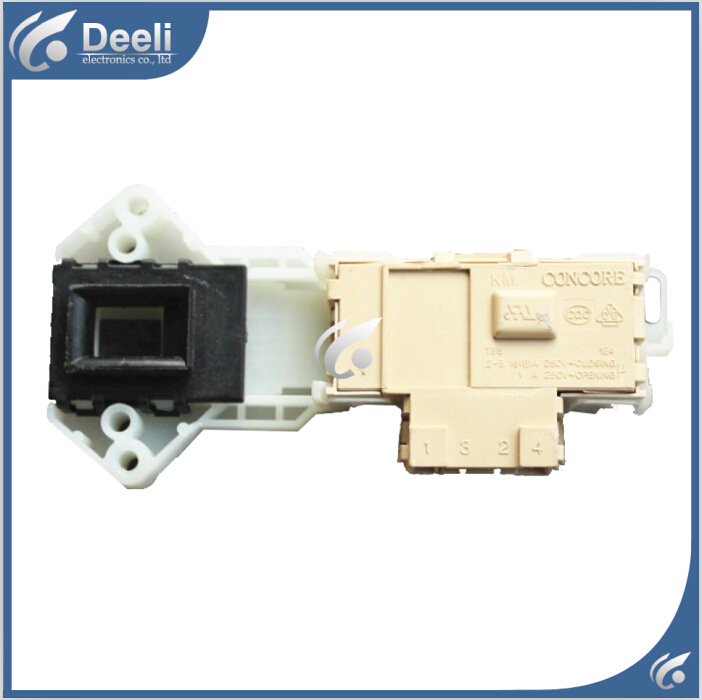 Original for washing machine door switch WD-T12410D WD-T14415D interlock
