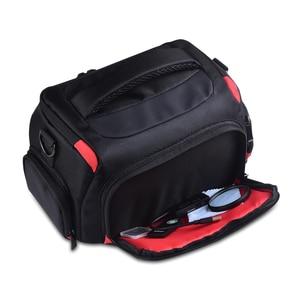 Image 3 - Wennew DSLR كاميرا حقيبة حقيبة الكتف مقاوم للماء لنيكون كانون بنتاكس سوني أوليمبوس غطاء التصوير صور