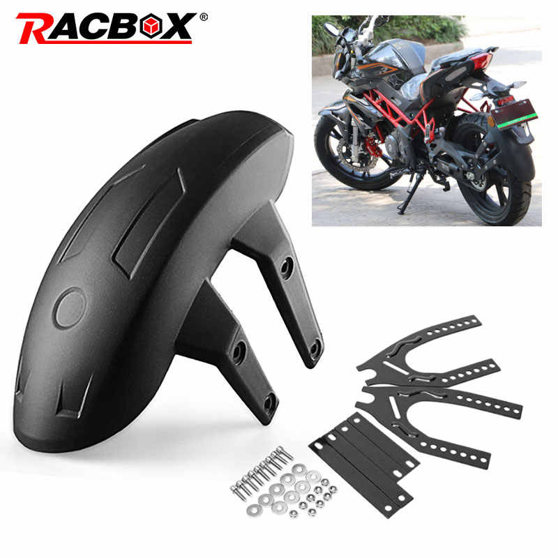 Motorcycle Back Mudguards Universal Moto Scooter Accessories Bracket Rear Cover For chopper kawasaki Honda Fender scrambler
