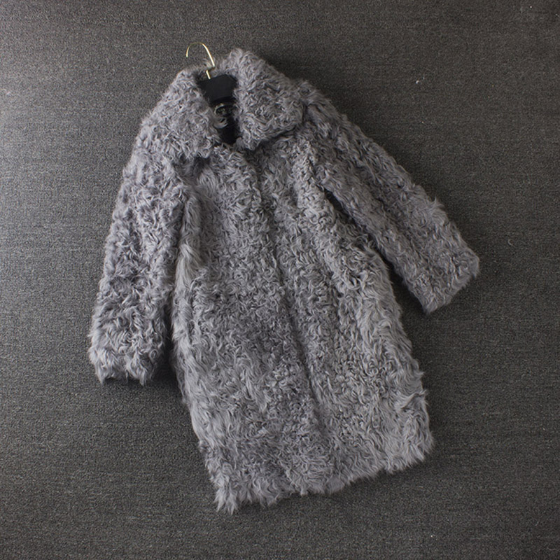 Настоящее Агнец Меховые пальто для Жeнскaя зимняя кyрткa женщин меховой воротник Меховые пальто Китай 100% натуральный furreal пальто с мехом