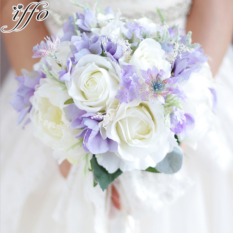 Bouquet Sposa Viola.Seta Pizzo Perle Bouquet Sposa Peonie Rose Rustico Chic Spilla