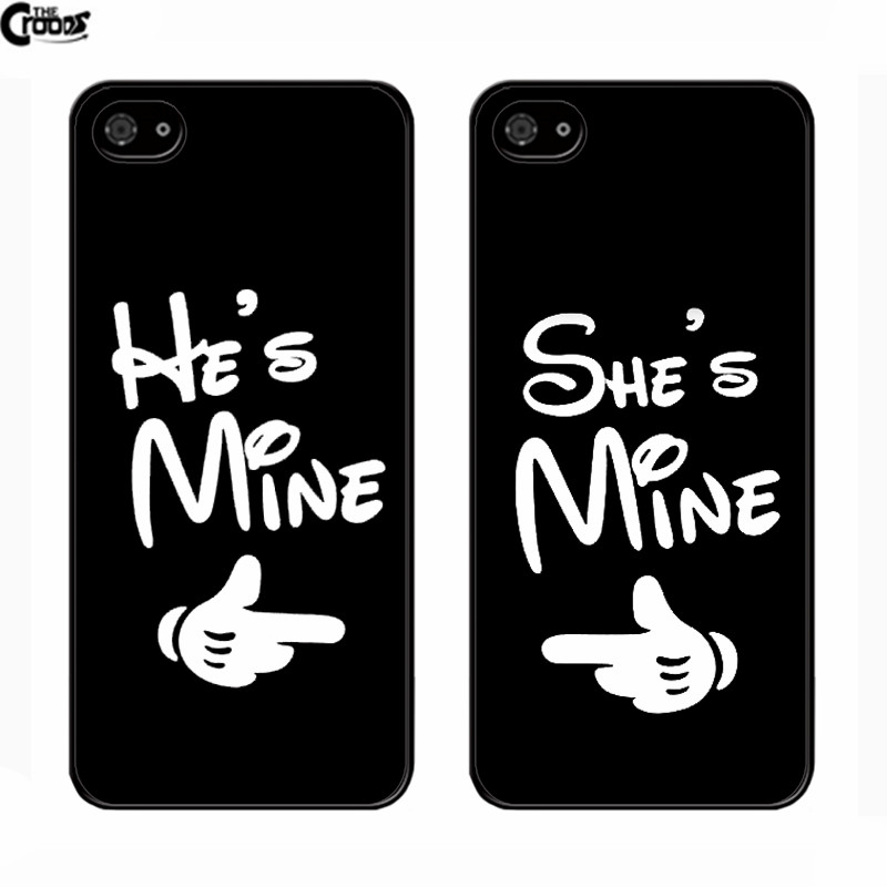 huge discount 64175 e41c4 US $2.99 |He's Mine She's Mine Couple Cases For iPhone 5 5s 5c 6 6s plus  Covers For Meizu M3 M2 Note Mx6 mx4 pro ipod Touch 4 5 6 on Aliexpress.com  | ...
