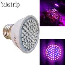 Yabstrip светодиодный светильник для выращивания растений, лампочка, светильник ing для комнатных семян, гидро цветок, теплица, Вег, гидропоника, E27, лампа для выращивания, фитолампа