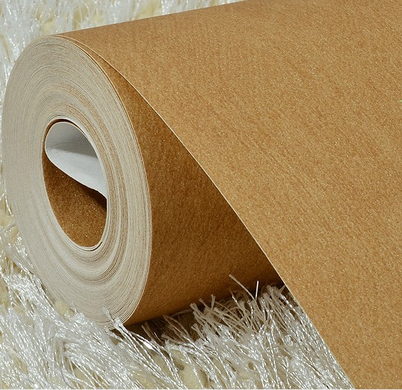 2016 new selling American plain non-woven wallpaper Bedroom sofa setting wall restoring ancient ways Pure color wall paper brown new household decorates nostalgic american country pure paper wallpaper restoring ancient ways brush paint process living room
