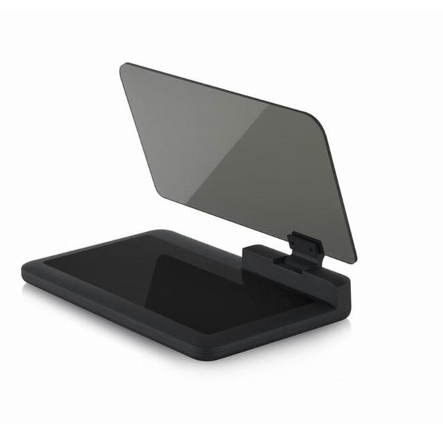 H6 universal car hud head up display holder gps navigator teléfono smartphone proyector panel de tablero de la reflexión para iphone samsung