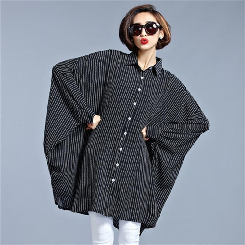 2017 Spring Summer Irregular Long Women Blouse Chiffon Black Long Sleeved Ladies Fashion Tops Casual Thin Large Size Shirt Blusa
