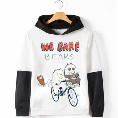 Detail Feedback Questions about We Bare Bears Hoodies