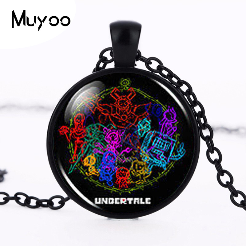Pendants Cheap Price Undertale Fans Flower Sans Video Game Gaming Fashion Necklace Brass Silver Pendant Steampunk Jewelry Gift Ladies Chain Toy Mens